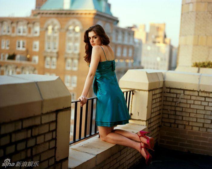 天蝎座美女安妮·海瑟薇百张唯美写真 疯狂电